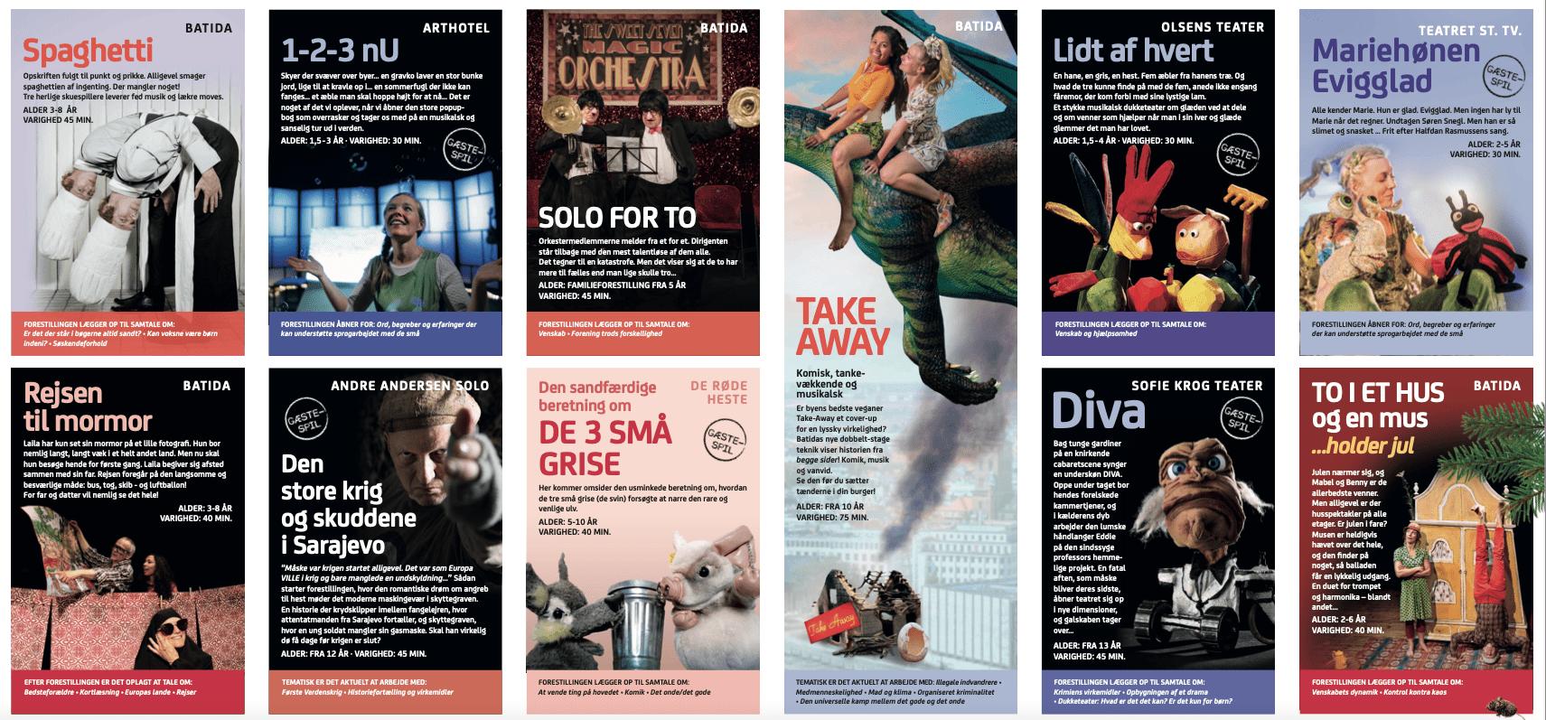 Nyt teater Nordvest program for efteråret 2021
